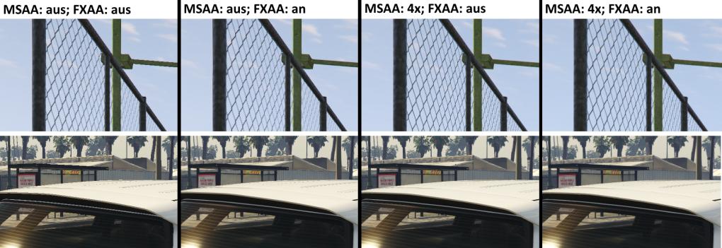 Gta 5 Tuningtipps Texturqualität Msaa Und Fxaa