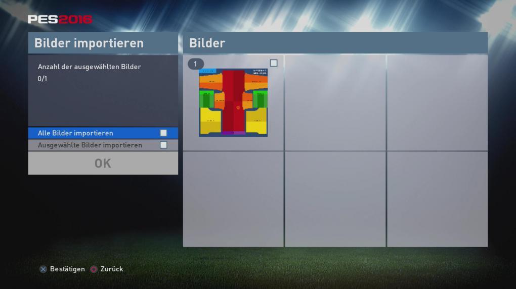 PES 2016: Logos, Trikots, Teams der Bundesliga mit Editor