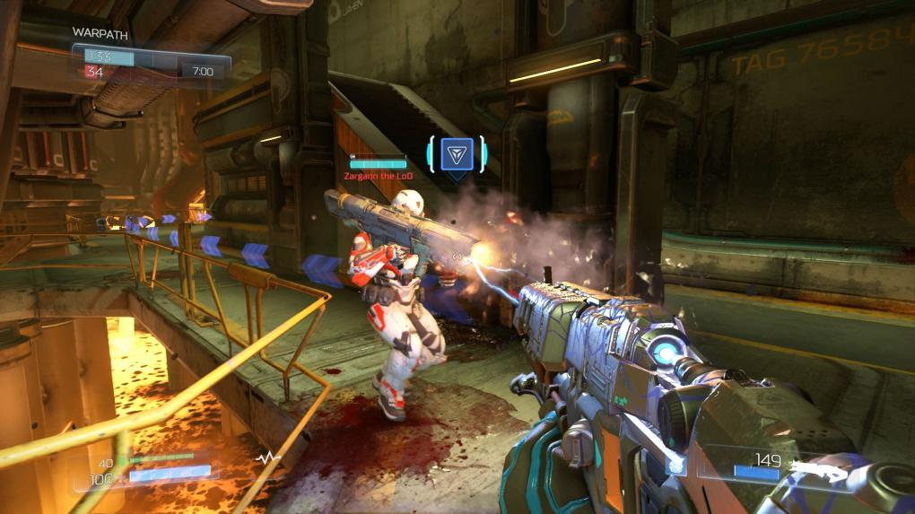 Doom Beta Lightning Gun