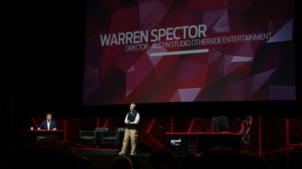 PC Gaming Show Warren Spector