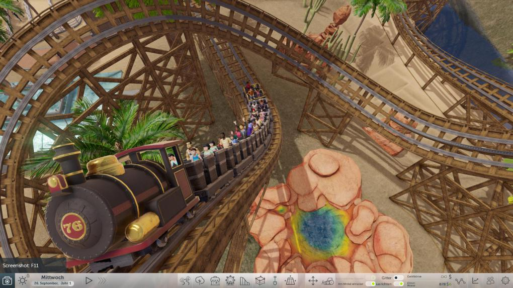 how to play roller coaster tycoon world