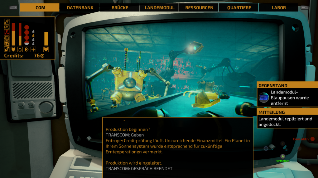 The Long Journey Home im Test: Flugsteuerung, Aliens, Quests, Fazit ...