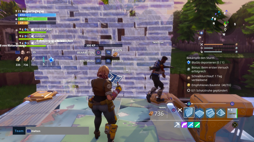 Fortnite Im Early Access Check Grundsolider Aber Langweiliger Shooter