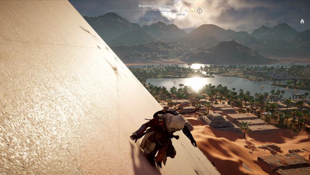 Assassin S Creed Origins Kolumne Keine Minimap Kein Stress