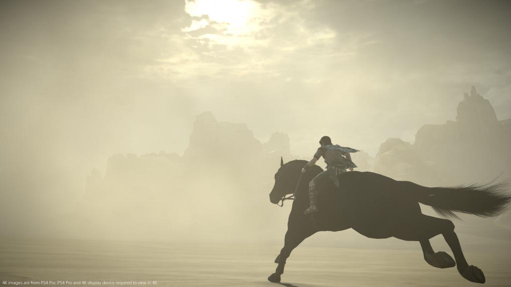 Der junge Wander und sein treues Pferd Agro galoppieren in Shadow of the Colossus los, um mächtige Titanen zu erschlagen.
