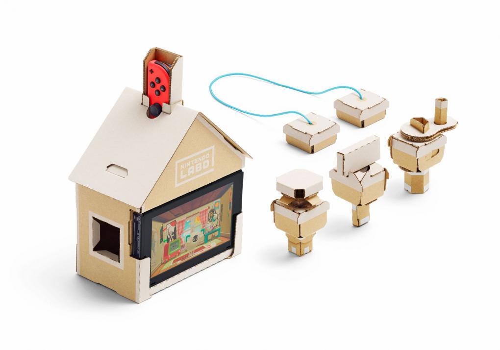 nintendo labo multi set im test es rappelt und ist aus karton. Black Bedroom Furniture Sets. Home Design Ideas