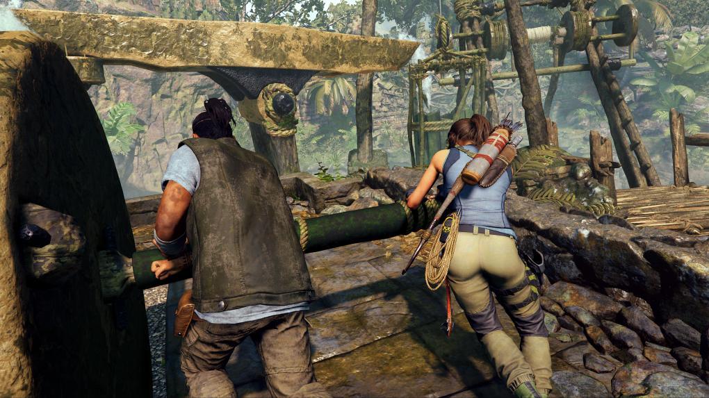 Shadow Of The Tomb Raider Stundenlang Mit Lara Gespielt Mit Video