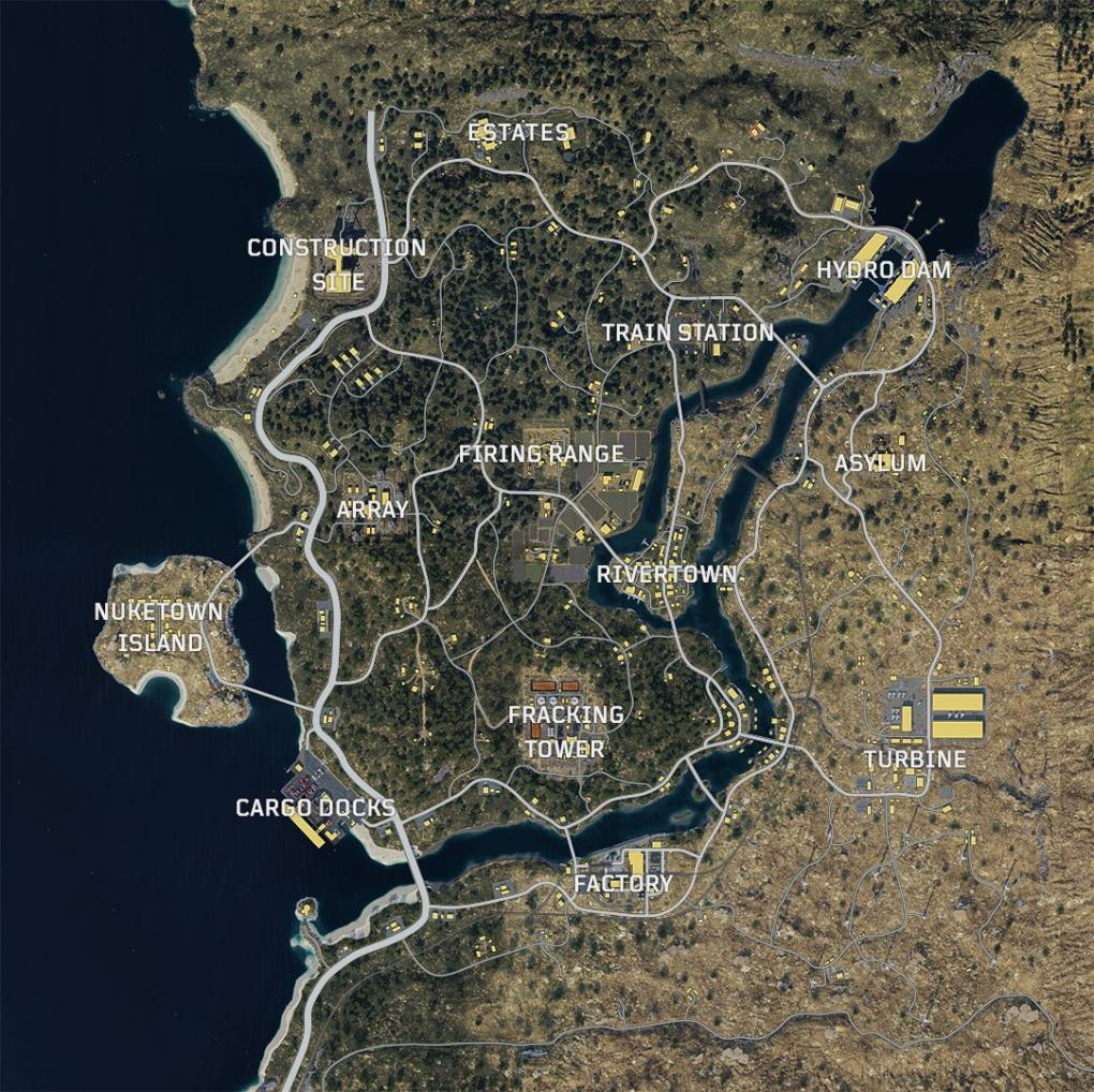 Call of Duty: Black Ops 4 - Das ist Blackout-Map von der Beta Call Of Duty Black Ops Maps on