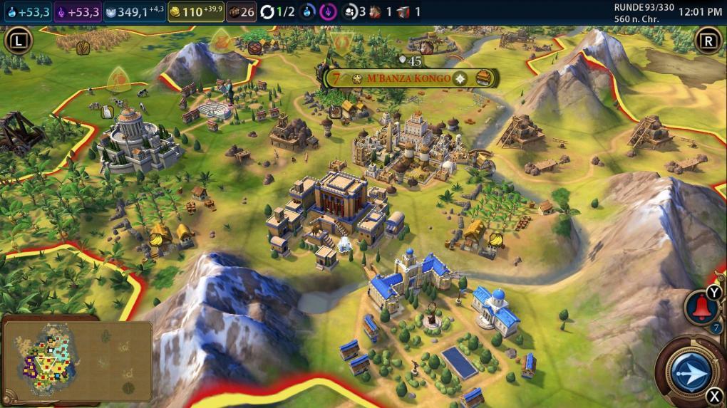 Civilization 6 im Test für Switch - Sehr gelungene Umsetzung!