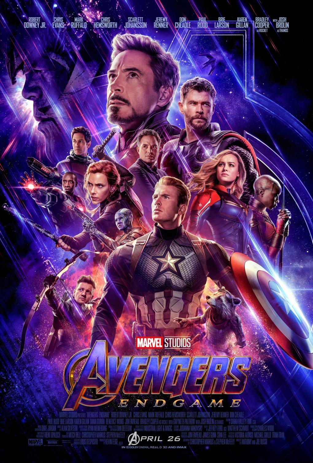 Avengers Endgame Kinostart