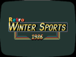 Retro Winter Sports 1986: Oldschool-Sportspiel im Stile von Winter Games angekündigt