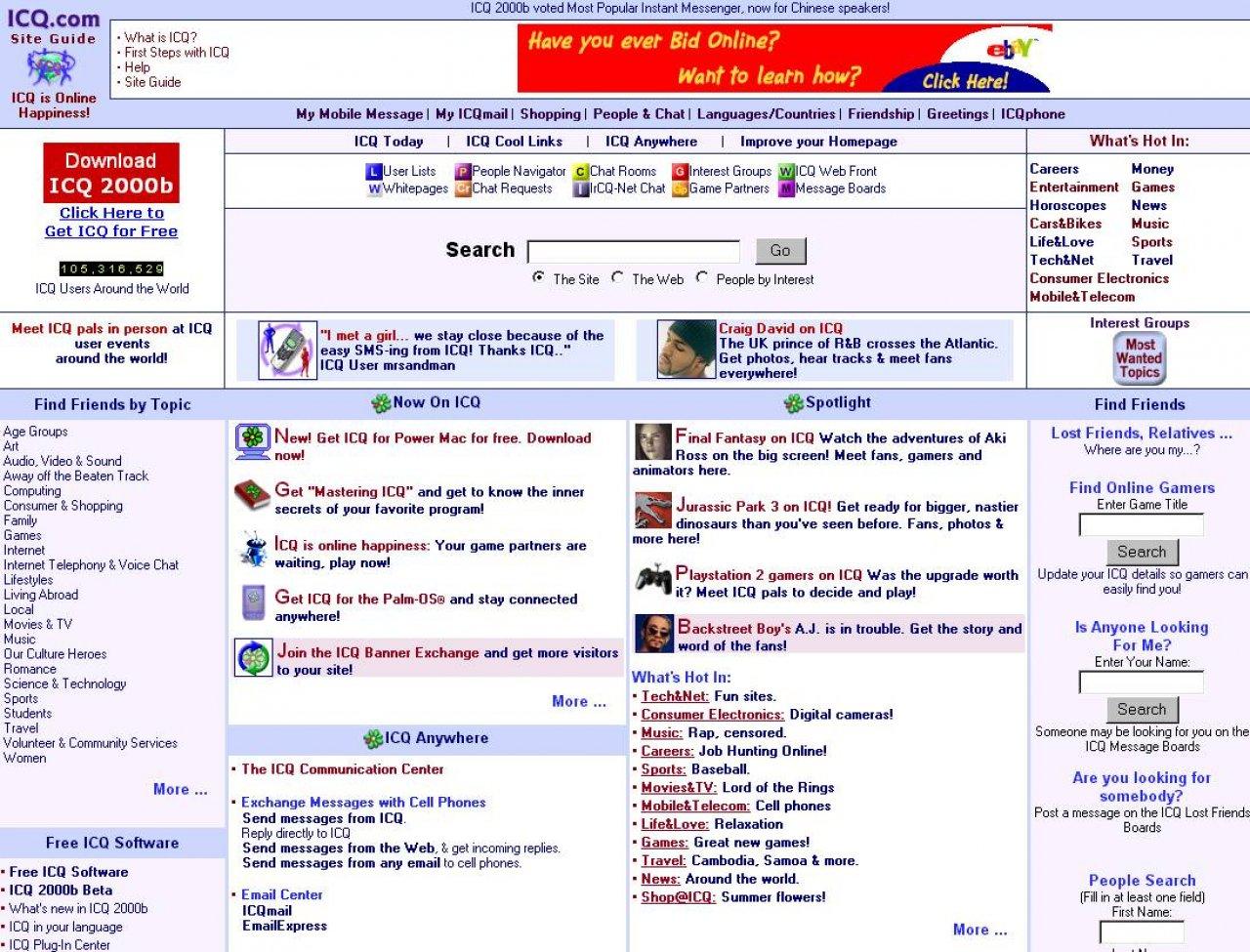 ICQ - neue Version erhältlich