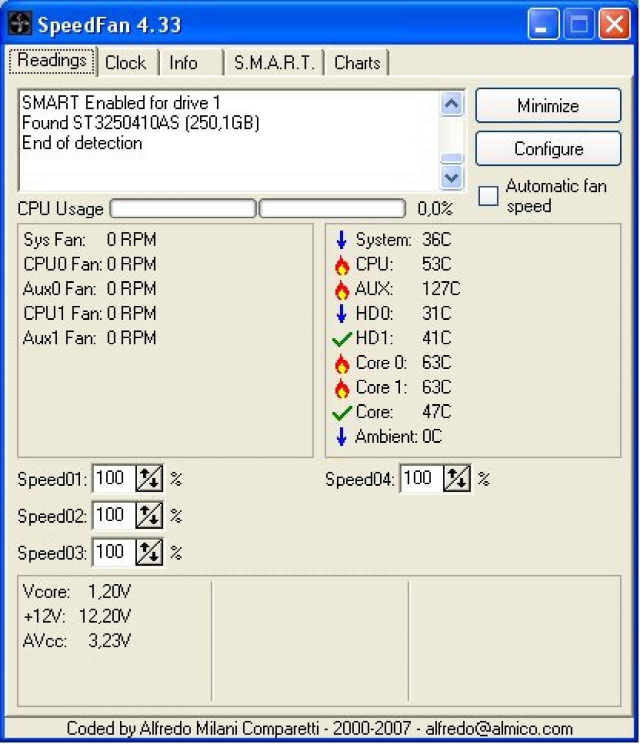 Download Speedfan 20.20   Software Lüftersteuerung