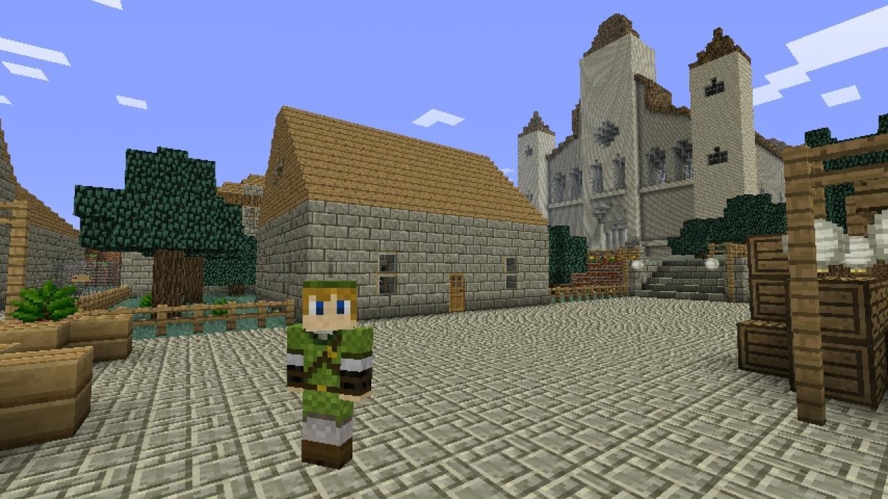 Vor dem Minecraft-Patch 1.8: Tower of Ordeals und Zelda Adventure Zelda Minecraft Map on