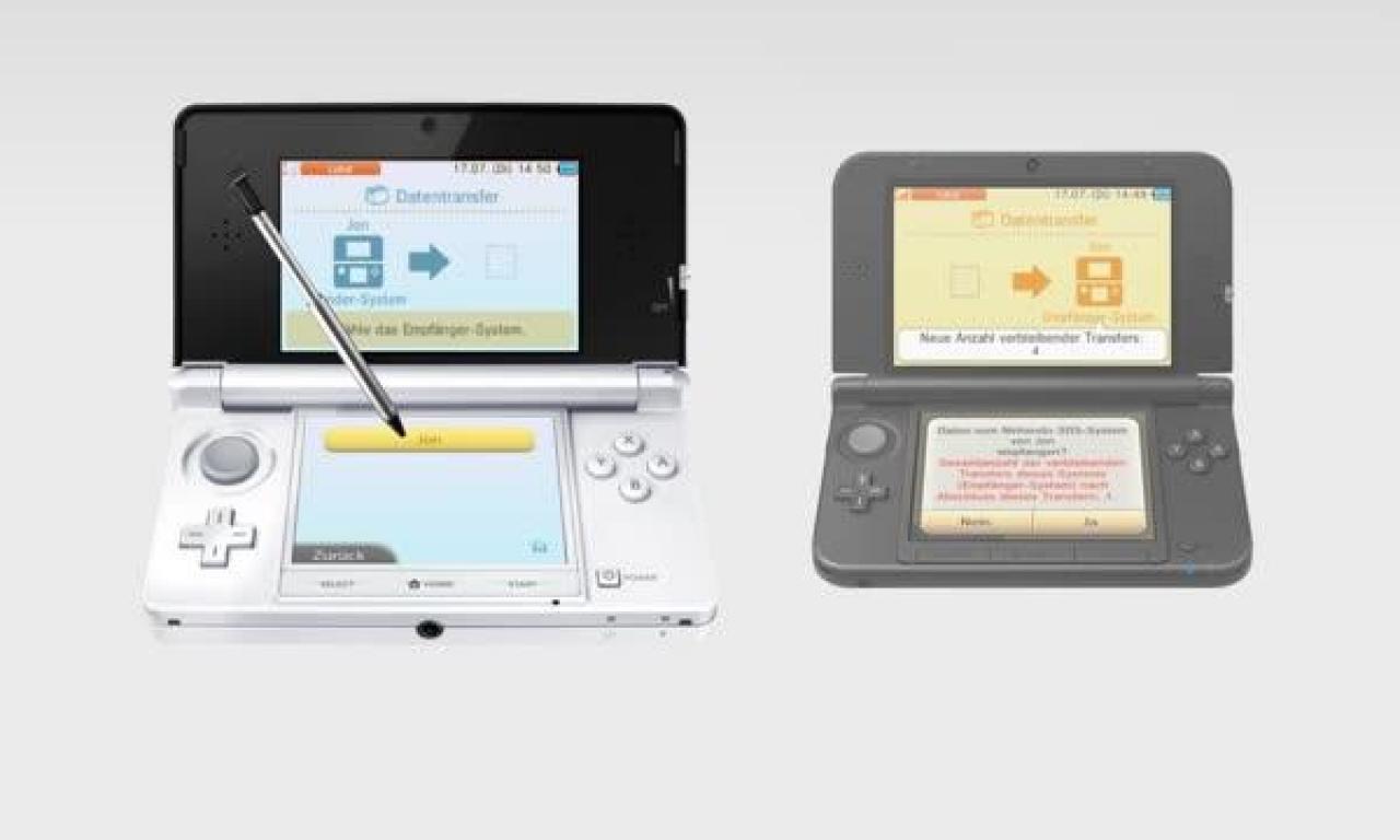 Nintendo 3ds Sd Karte.Nintendo 3ds Xl So Funktioniert Der Datentransfer