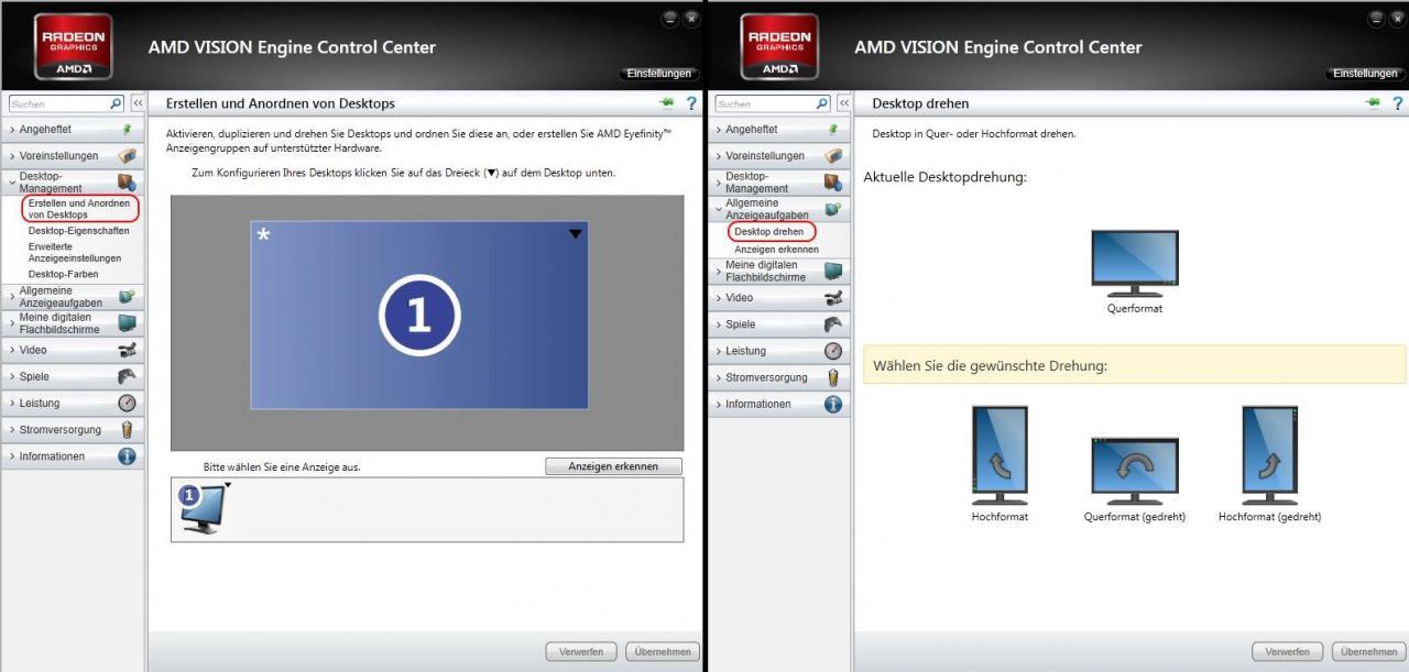 AMD Catalyst 12 11 Beta: Das Catalyst-Menü Teil 1