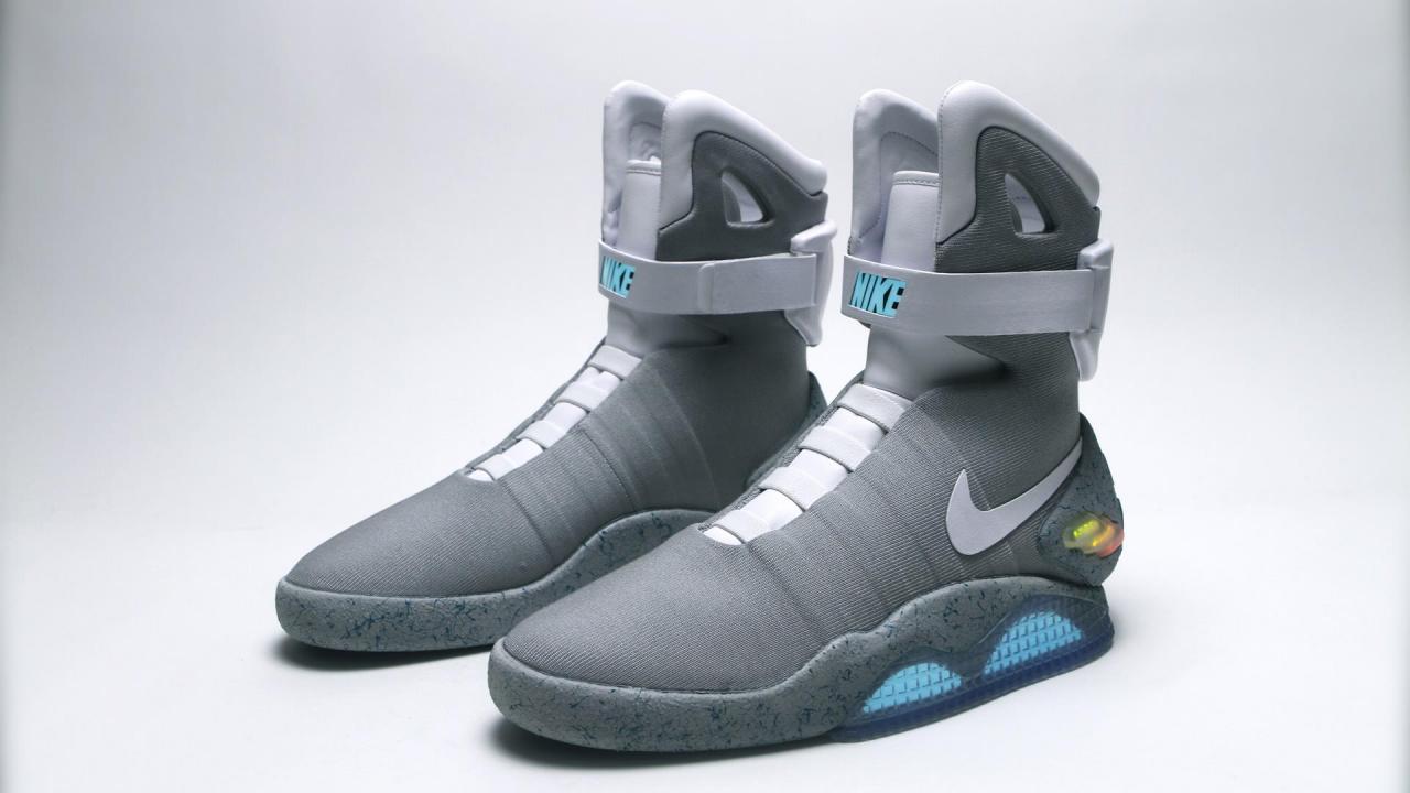 Nike: Mag - selbstschnürende Schuhe aus Zurück in die ...