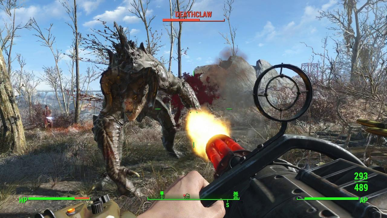 Dogmeat Stattet Aus Fallout 4Mod Mit Rucksack R5j4AL3