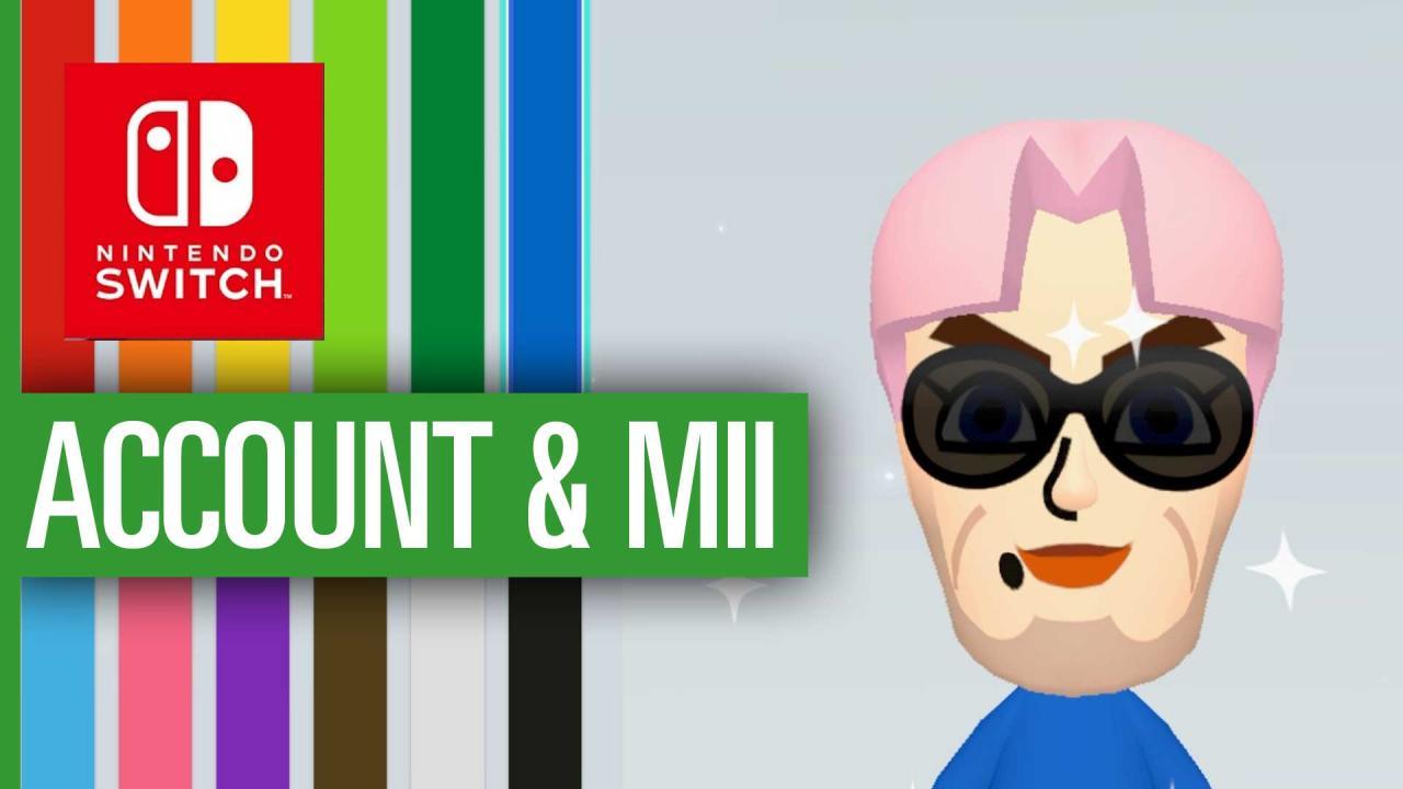 Nintendo Switch: So erstellt ihr Account und Mii - Video-Guide