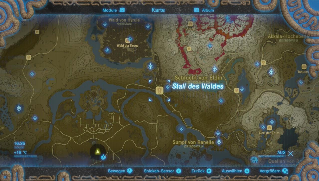 Zelda Alle Schreine Karte.Zelda Breath Of The Wild Master Schwert Finden Guide
