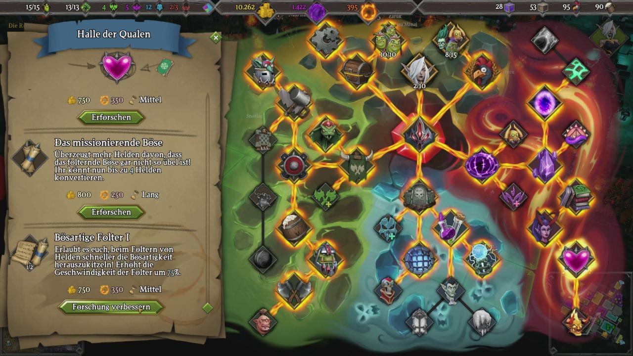 Dungeons 3 im Test: Besseres Gameplay, schlechtere Gags