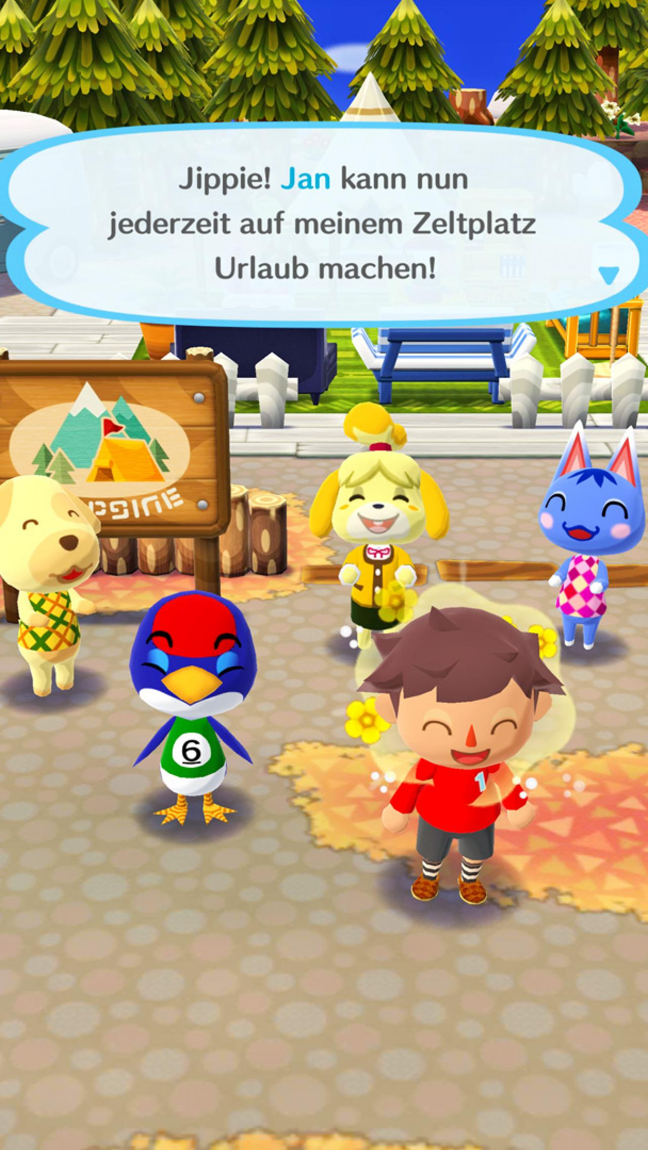 Animal Crossing: Pocket Camp im Test: Trotz Free2Play