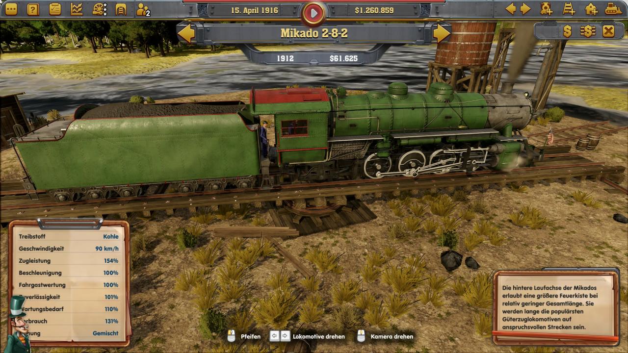 Railway Empire: Test der Eisenbahn-Tycoon-Simulation