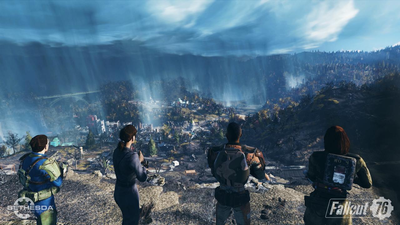 Fallout 76 Komplette Karte.Fallout 76 Map Von West Virginia Das Ist Die Spielwelt