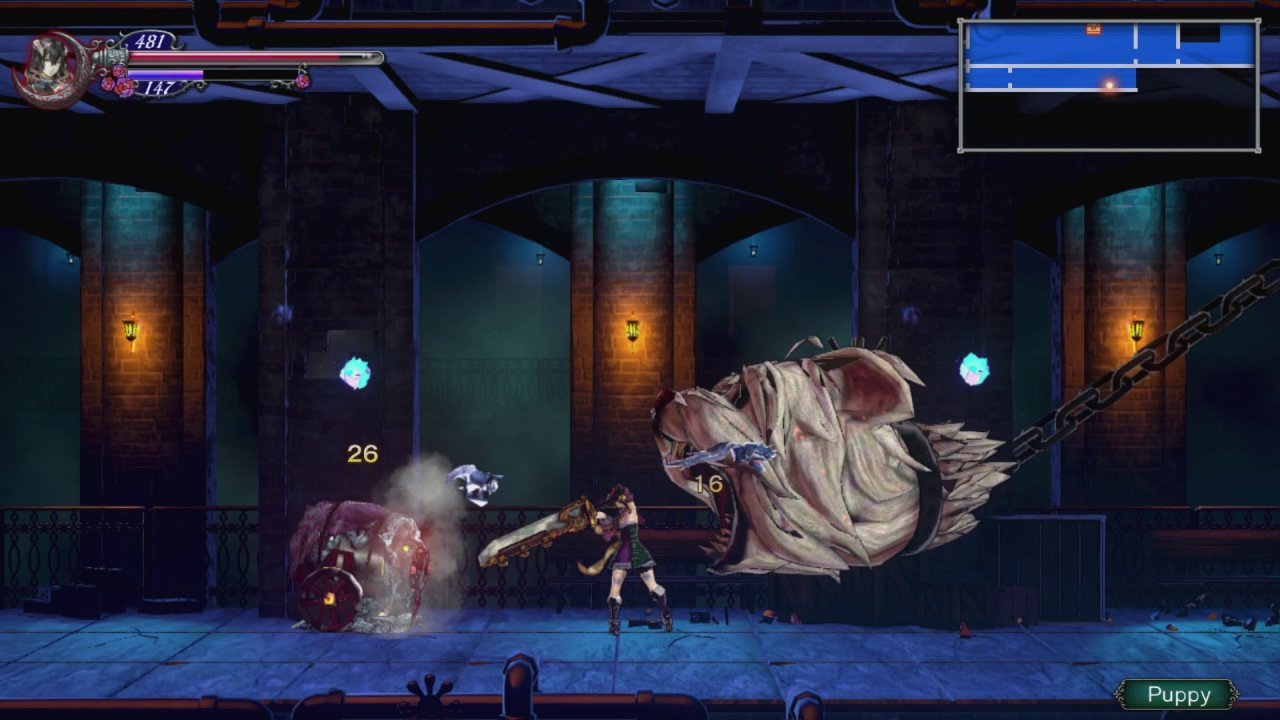 test bloodstained