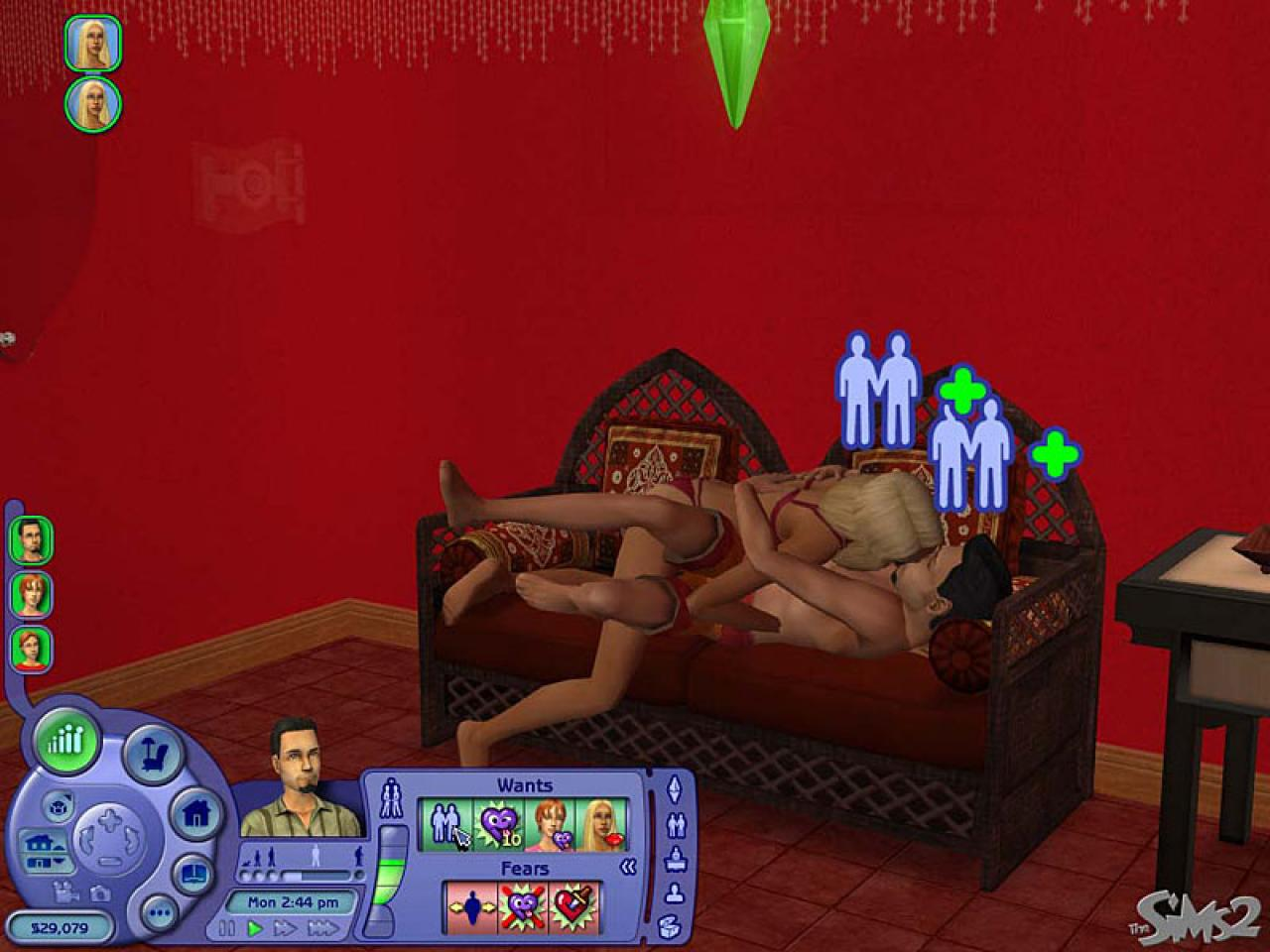 Sex bed for the sims naked gallery