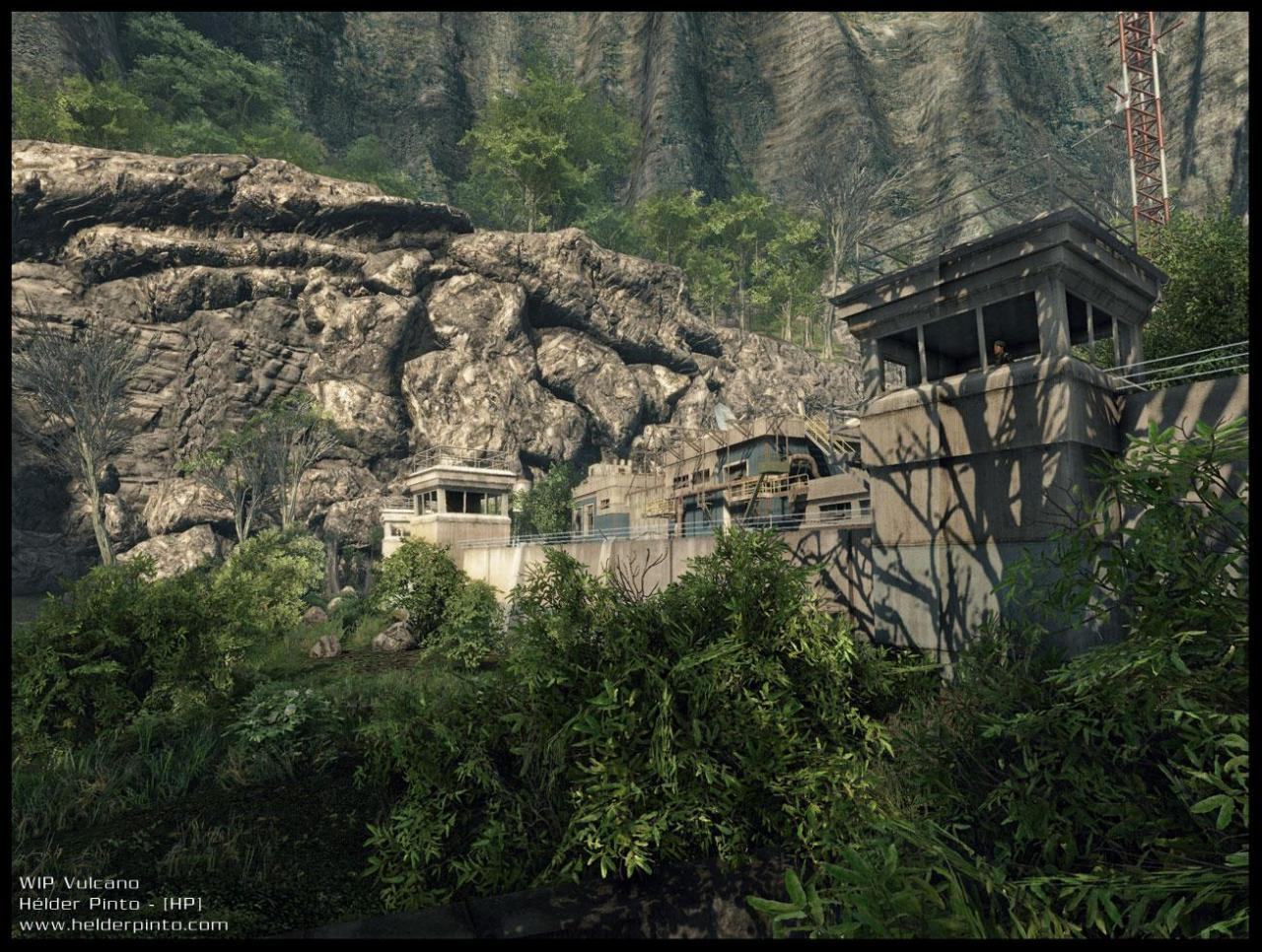 [01/06/08] <b>Crysis</b>-Singleplayer-Map: Vulcano - Bild: <a href=