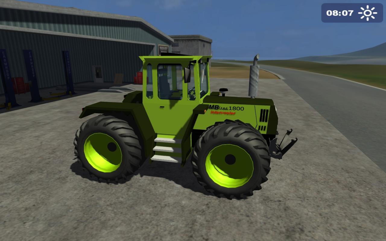 landwirtschafts simulator 2011 mods neue traktoren. Black Bedroom Furniture Sets. Home Design Ideas