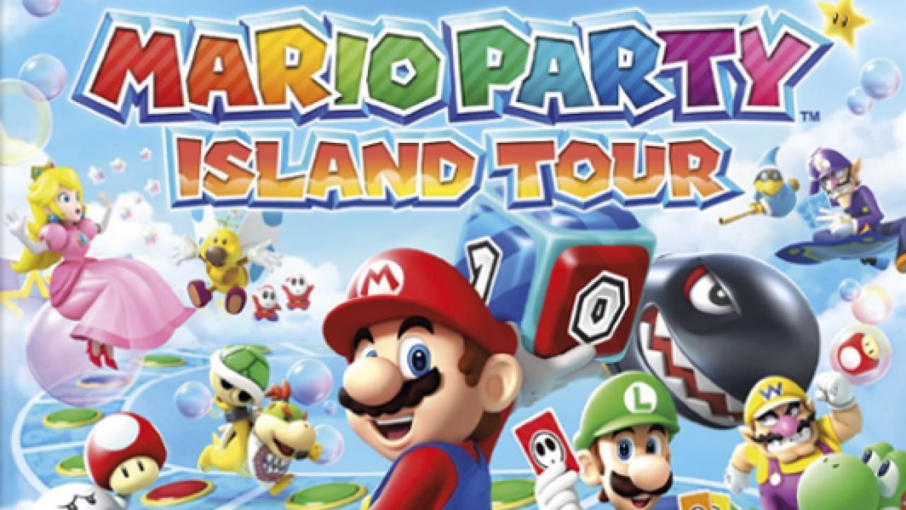 Mario Party Island Tour Test