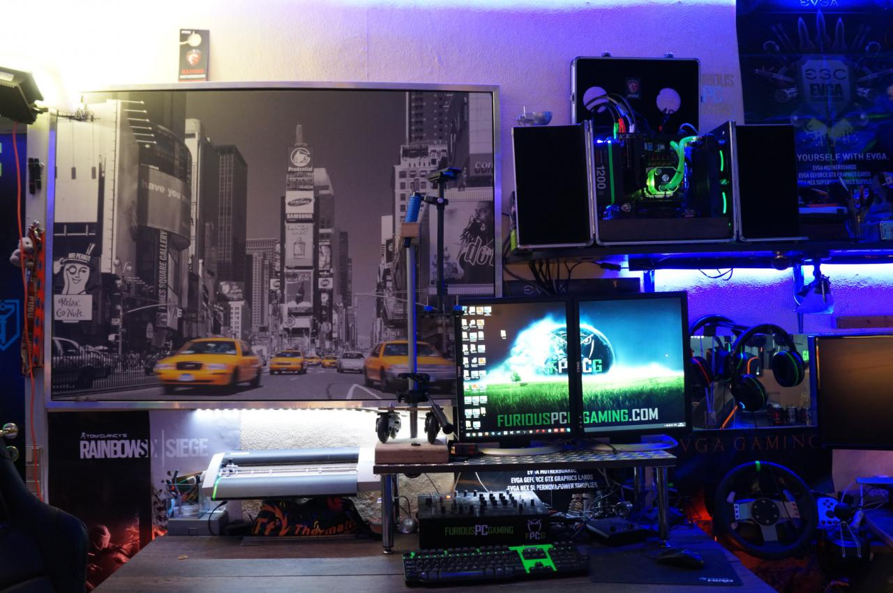 Gaming room high end zimmer kostete 9 jahre arbeit und eine menge geld bildergalerie bild 4 - Gamer zimmer ...