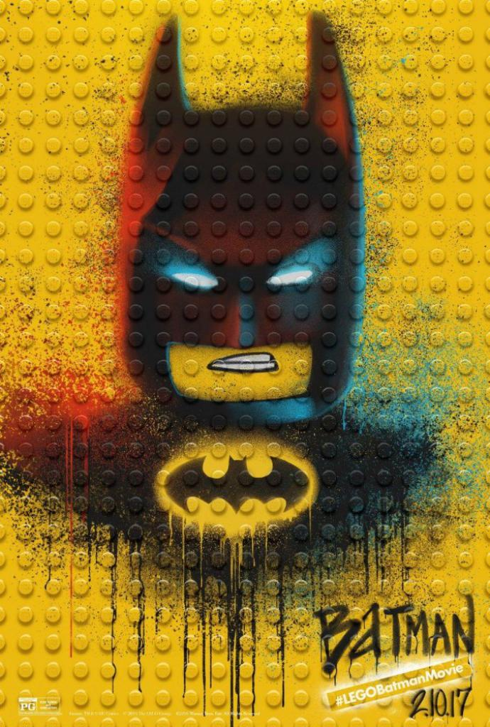 The LEGO Batman Movie Charakterplakat Batman
