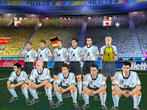 FIFA WM 2002 - nationale Mannschaft, internationales Essen.