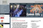 Die Website zur Games Convention 2004.