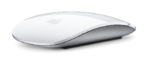 Die Multitouch Magic Mouse im Bild.