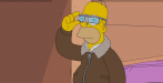 In der jüngsten Simpsons-Episode testet Homer die Reality-Brille Google Glass.