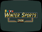 Retro Winter Sports 1986 erinnert stark an den Klassiker Winter Games.