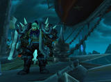 Screenshot zu World of Warcraft: Wrath of the Lich King - 2008/08/Orc_guarding_airship.jpg
