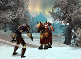 Screenshot zu World of Warcraft: Wrath of the Lich King - 2008/08/Undead_rogue_in_Dragonblight.jpg