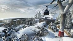 Call of Duty: Black Ops 2 Revolution Preview - Seilbahn auf Downhill.