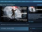 Rise of the Tomb Raider: Steam nennt Januar als PC-Release-Termin