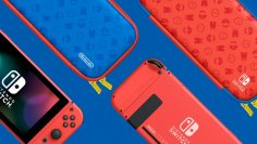 Nintendo Switch: New Color Model in Mario Design - Release & amp;  first pictures (2)