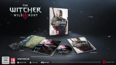 The Witcher 3: Wild Hunt - Unboxing-Video zur Standard-Edition