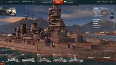 World of Warships: buffed Shipyard - Folge 1: Schlachtschiff Kongo