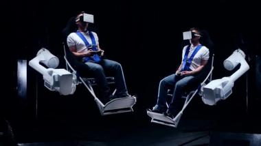 MMOne - Virtual Reality Gaming Chair im Video