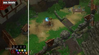 Magicka 2: Minimale vs. maximale Details im Video-Grafikvergleich