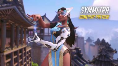 Overwatch: Symmetra im Gameplay-Video